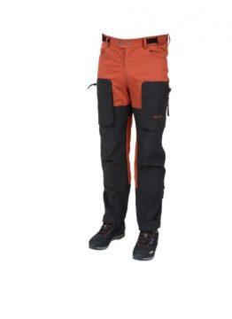 X-Motion housut tiilenpunainen-musta